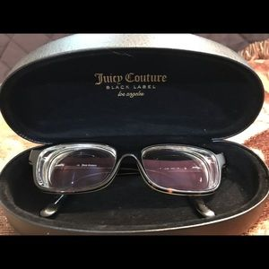Juicy Couture tortoise shell eye glasses